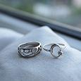 Отдается в дар Колечки серебряные, размер 18,5-19 (оба, точнее не могу определить).