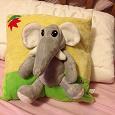 Отдается в дар Подушка со слонёнком