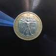 Отдается в дар Монета 1 евро — Италия, 2002