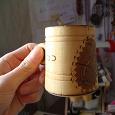 Отдается в дар Сувенирчик- кружечка деревянная — Капелька везения