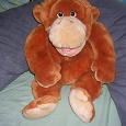 Отдается в дар мягкая игрушка обезьяна на руку