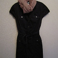 Отдается в дар Платье черное, размер 44-46