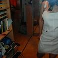 Отдается в дар Белый джинсовый сарафанчик!!!