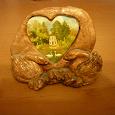Отдается в дар Статуэтка «Остров любви»