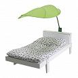 Отдается в дар Полог для детской кровати икея 'зеленый лист'