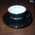 Отдается в дар Чашка с блюдцем «Cubita»