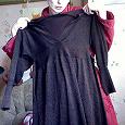 Отдается в дар Золотисто-коричневое платье 44-46