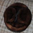 Отдается в дар Норковая шапка из СССР