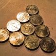 Отдается в дар 300₽. Юбилейные монеты из серии ГВС (30*10р)