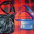 Отдается в дар Женские сумки (чёрная и синяя)