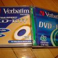 Отдается в дар 2 DVD-RW Verbatim 4x + коробки