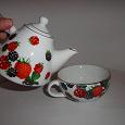 Отдается в дар заварочный чайник и чашка