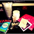 Отдается в дар Разное для красоты — 2: лосьон для тела, крем для рук, очищающие полоски для носа, пробники крема и парфюма
