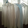 Отдается в дар мужские белые сорочки