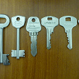 Отдается в дар ключи для коллекции или ХМ
