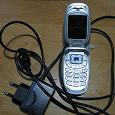 Отдается в дар Сотовый телефон Samsung раскладушка