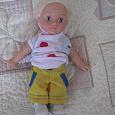 Отдается в дар Кукла малышка в кроссовках