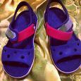 Отдается в дар Оригинальные детские сандали Crocs 26 размер