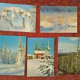 Отдается в дар набор открыток «Пейзажы Финляндии», СССР