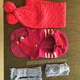 Отдается в дар Шапочка, шарфики для девочки
