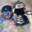 Отдается в дар шапки на мальчика 1-2 года