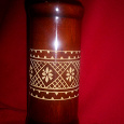 Отдается в дар ваза деревянная с резьбой СССР
