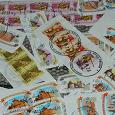 Отдается в дар Марки стандарты РОССИИ с конвертов