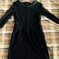 Отдается в дар Чёрное платье, 42 р-р