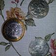 Отдается в дар юбилейные монеты 2 и 10 руб.