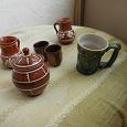 Отдается в дар набор керамической (глиняной?) посуды