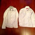 Отдается в дар Белые рубашки на 10 -11 лет