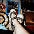 Отдается в дар Туфли 38-38,5 камуфляжные кедо-балетки