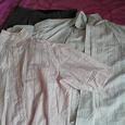 Отдается в дар Мужчине: 2 рубашки и брюки: размер 48-50