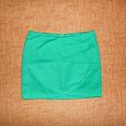 Отдается в дар Мини-юбка зеленая