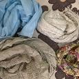 Отдается в дар Легкие весенние шарфики