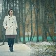 Отдается в дар Осеннее пальто молочного цвета Jennyfer р-р 46
