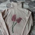 Отдается в дар Теплый свитер женский 44 размер