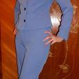 Отдается в дар костюм тройка 44 — 46 р голубой цвет