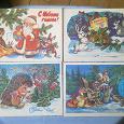Отдается в дар открытки новогодние период СССР (8).