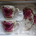 Отдается в дар Набор чайный 4 предмета