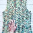 Отдается в дар Маечка вязанная х/б 42-44 размер.