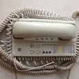 Отдается в дар Домашний стационарный телефон б/у, провод от трубы 15 метров