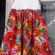Отдается в дар Платье на девочку от 3-5 лет.