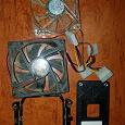 Отдается в дар компьютерные корпусные вентиляторы куллеры и АМ2 корзина