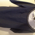 Отдается в дар Платье джинсовое с отделкой бисером