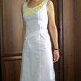 Отдается в дар Платье белое 42-44 размер
