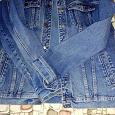 Отдается в дар Мужская джинсовая куртка размер 50-52