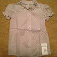 Отдается в дар Новая блузка на девочку рост 134