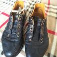 Отдается в дар мужские кожаные кроссовки 42 р-р
