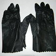 Отдается в дар перчатки кожаные
